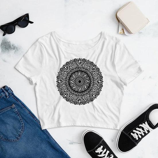 Mandala Design Women's Crop Top