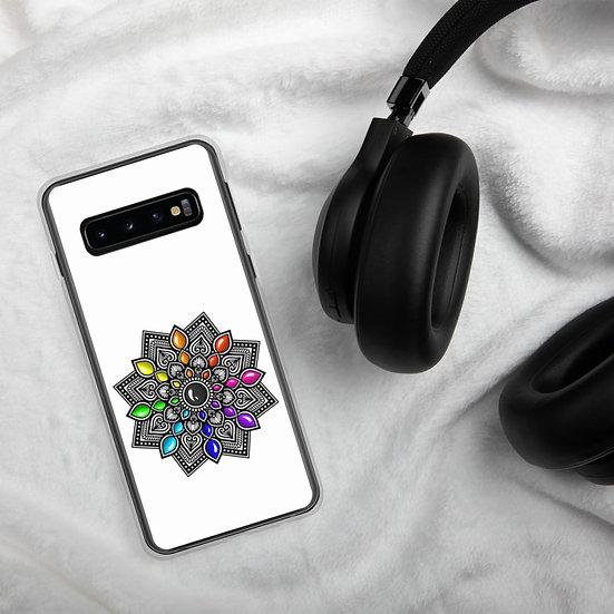 Multi-color gradient Samsung Cover