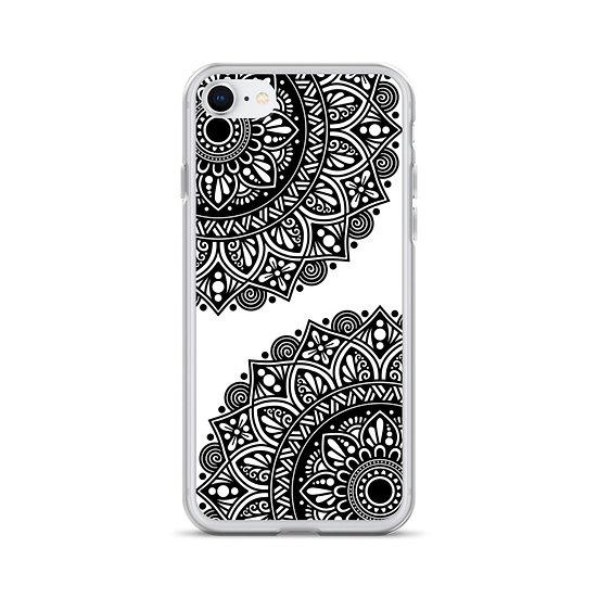 iPhone Case with Mandala Design