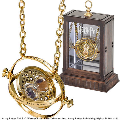 HERMIONE TIME TURNER 24K PLATED PROP REPLICA