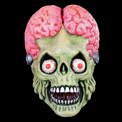 MARS ATTACKS DRONE MARTIAN FULL HEAD LATEX MASK