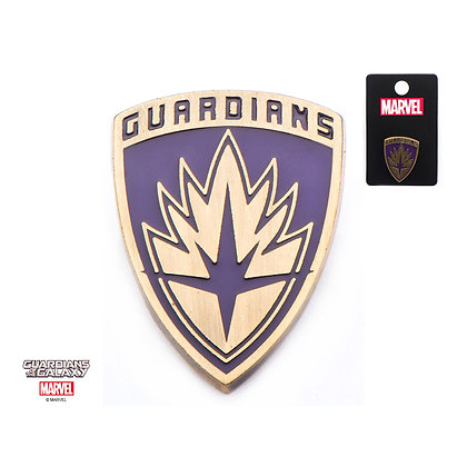 MARVEL GUARDIANS OF THE GALAXY SHIELD LAPEL PIN