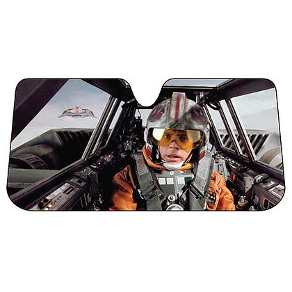 STARWARS SNOWSPEEDER ACCORDION CAR WINDSCREEN SUNSHADE