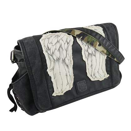 THE WALKING DEAD DARYL DIXON WINGS MINI MESSENGER BAG