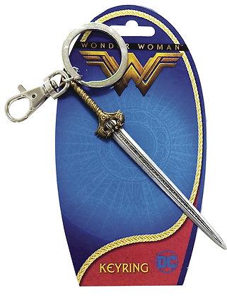 DC WONDER WOMAN MOVIE KEYRING SWORD OF ATHENA