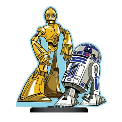 STAR WARS C-3PO AND R2-D2 SHORTY STANDING AIR FRESHENER