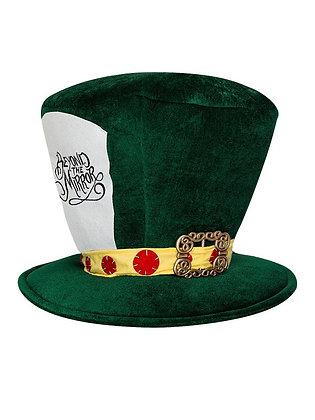 ALICE IN WONDERLAND BETOND THE MIRROR MAD HATTER GREEN HAT