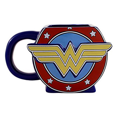 WONDER WOMAN LOGO 3D MUG
