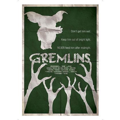 GREMLINS THE RULES ART PRINT