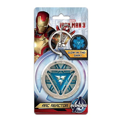 MARVEL IRON MAN 3 ARC REACTOR KEYRING