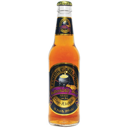 x1 BOTTLE HARRY POTTER STYLE FLYING CAULDRON BUTTERSCOTCH BEER