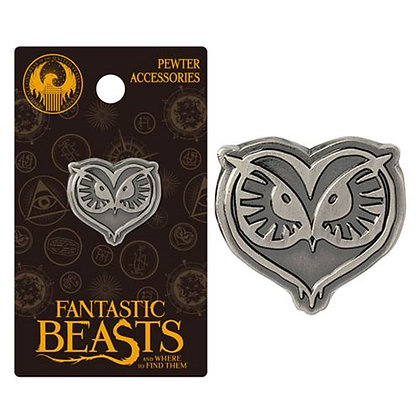 FANTASTIC BEASTS AND WHERE TO FIND THEM OWL LAPEL PIN
