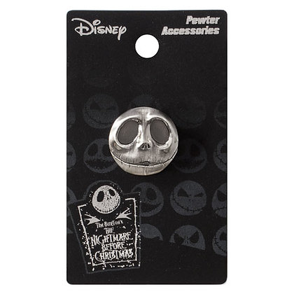 NIGHTMARE BEFORE CHRISTMAS JACK HEAD LAPEL PIN