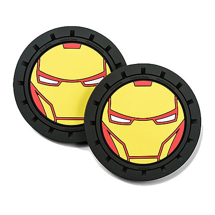 MARVEL IRON MAN CAR COASTER 2-PACK