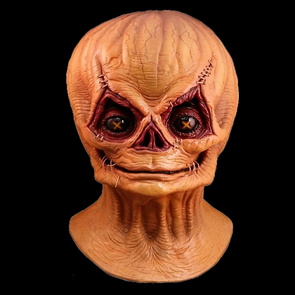 TRICK R TREAT SAM UNMASKED FULL HEAD AND NECK LATEX MASK