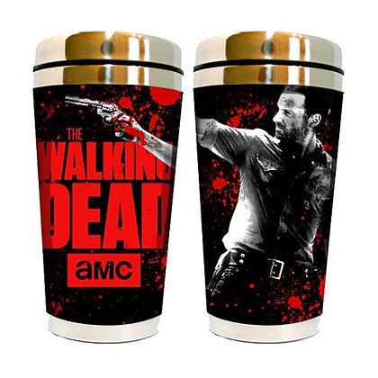 AMC THE WALKING DEAD RICK GRIMES TRAVEL CUP