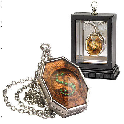 HARRY POTTER HORCRUX LOCKET REPLICA WITH DISPLAY CASE