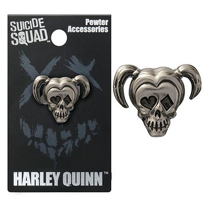 DC SUICIDE SQUAD HARLEY QUINN PEWTER LAPEL PIN