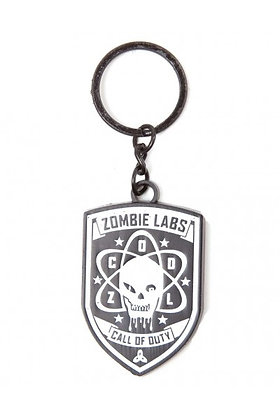 CALL OF DUTY BLACK OPS 3 ZOMBIE LABS KEYRING