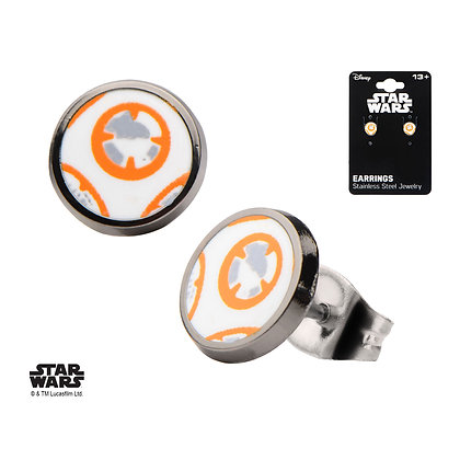 STAR WARS - EPISODE VII THE FORCE AWAKENS BB-8 DROID STUD EARR