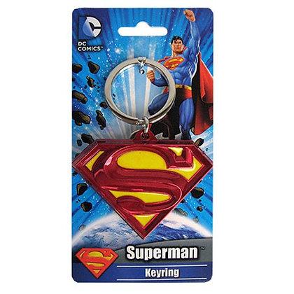 DC SUPERMAN CLASSSIC LOGO KEYRING