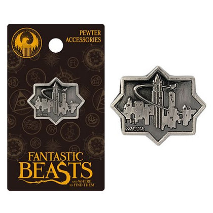 FANTASTIC BEASTS AND WHERE TO FIND THEM MACUSA CITY LAPEL PIN