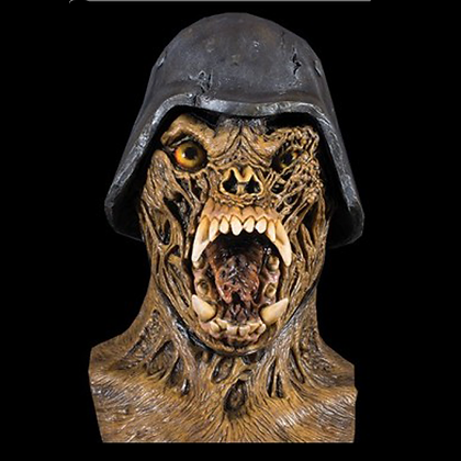 AN AMERICAN WEREWOLF IN LONDON WARMONGER FULL HEAD AND NECK LATEX MASK