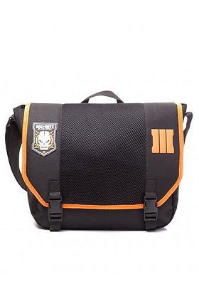 CALL OF DUTY BLACK OPS 3 MESSENGER BAG WITH SKULL PATCH