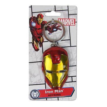 MARVEL IRON MAN COLOURED KEYRING