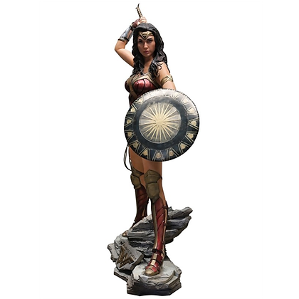 DC WONDER WOMAN (2017 MOVIE) LIFE SIZE LIMITED EDT FIGURE