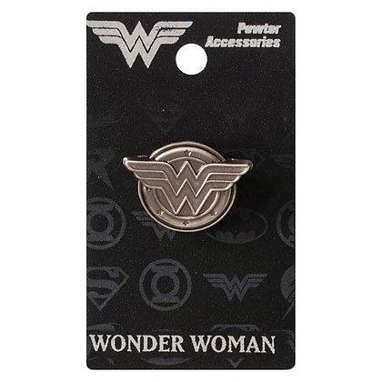 DC WONDER WOMAN LOGO LAPEL PIN