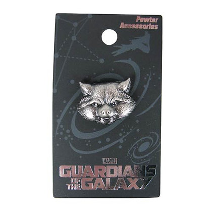 MARVEL GUARDIANS OF THE GALAXY ROCKET RACCOON LAPEL PIN
