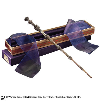 HARRY POTTER DUMBLEDORE WIZARD WAND IN OLIVANERS GIFT BOX