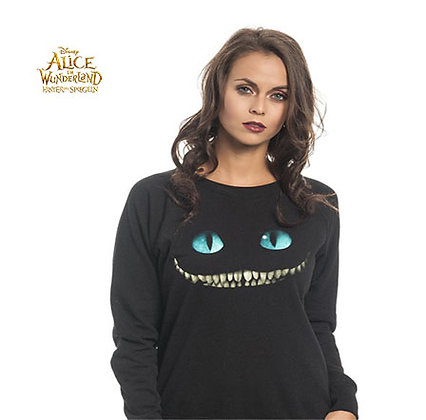 DISNEY ALICE IN WONDERLAND SMILE SWEATSHIRT