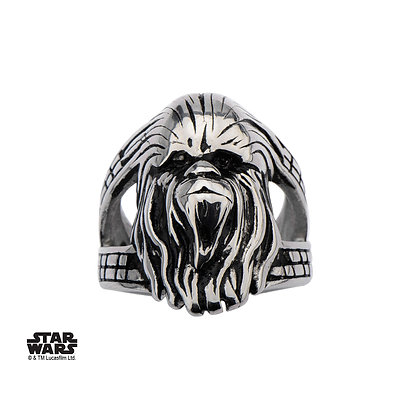 STAR WARS CHEWBACCA STAINLESS STEEL RING