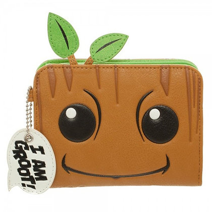 MARVEL GUARDIANS OF THE GALAXY GROOT ZIP WALLET