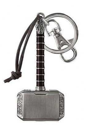 THOR THE DARK WORLD HAMMER PEWTER KEYRING