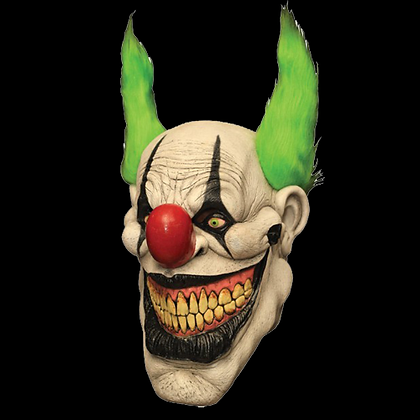 ZIPPO KILLER CLOWN FULL HEAD AND NECK LATEX MASK