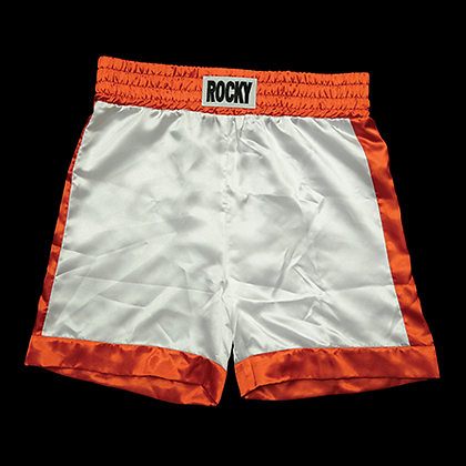 ROCKY BALBOA BOXING TRUNKS