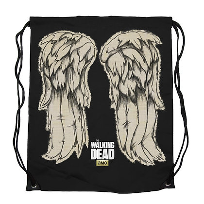 THE WALKING DEAD DARYL WINGS CINCH BAG