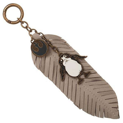 STAR WARS: THE LAST JEDI PORG FEATHER KEYRING