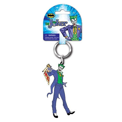 DC BATMAN THE JOKER LASER CUT KEYRING