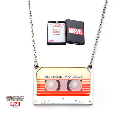 MARVEL GUARDIANS OF THE GALAXY AWESOME MIX VOL. 1 PENDANT NECKLACE