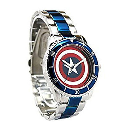 MARVEL CAPTAIN AMERICA SHIELD WATCH