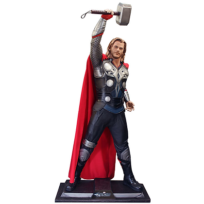 MARVEL THE AVENGERS THOR LIFE SIZE - LIMITED EDT FIGURE