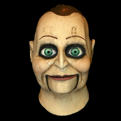 DEAD SILENCE BILLY PUPPET FULL HEAD & NECK LATEX MASK