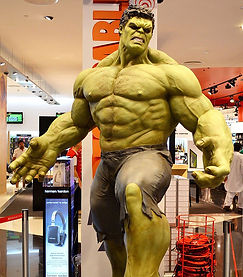 Life size Hulk - Rage One - Prop Hire