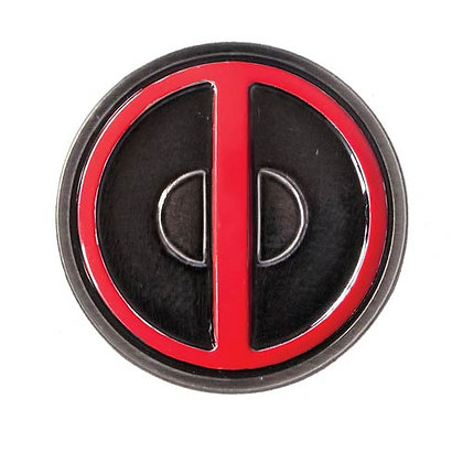 MARVEL DEADPOOL COLOUR LAPEL PIN