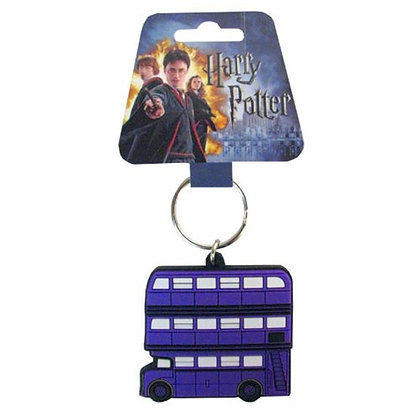 HARRY POTTER NIGHT BUS SOFT TOUCH KEYRING