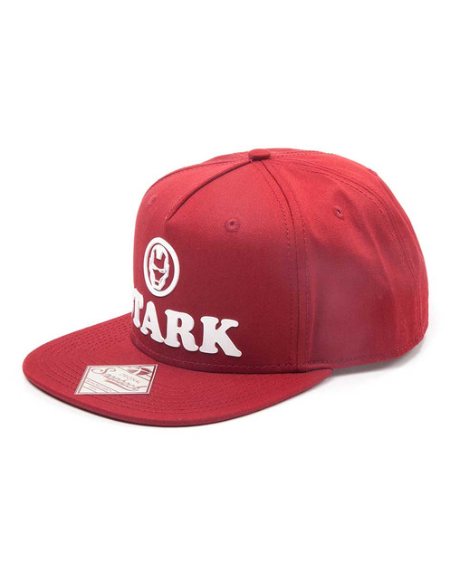 timeless design 7f882 42288 Marvel Tony Stark snapback cap.
